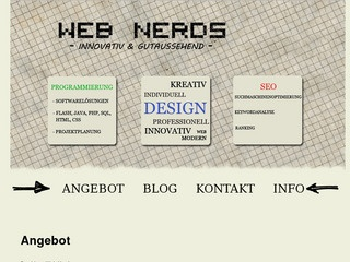 Web Nerds – Software Solutions, Android Apps und Webdesign