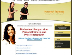 Personaltraining, Physiotherapie